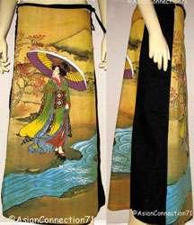 UTAMARO Ukiyoe New Japan Art Bag Sling Purse Tote S, L
