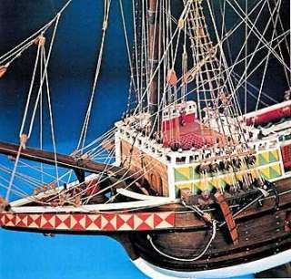 MAYFLOWER AEROPICCOLA wood Ship model kit 31.5 long