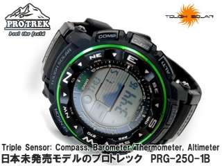 Casio PROTREK Pathfinder Mens Watch PRG250 PRG 250 1B