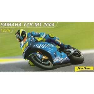 YZR M1 #46 Racing Motorcycle (Valentino Rossi) 1 24 Heller Automotive