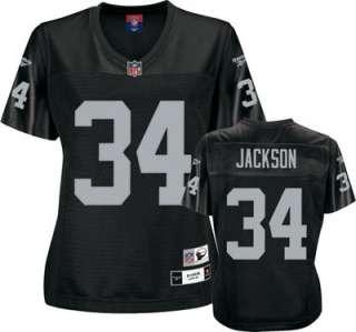 Bo Jackson Los Angeles Raiders Womens Premier Throwback Player Jersey
