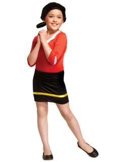 Costumes TV / Movie Costumes Popeye Costumes Child Olive Oyl Costume