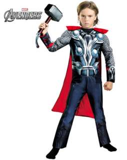 Boys Classic Muscle Thor Avengers Costume