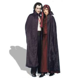 Halloween Costumes Velvet Cape 56 (Black) Adult