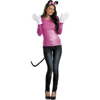Halloween Costumes Disney Pink Minnie Mouse Accessory Kit (Adult)
