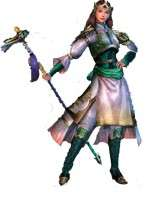Dynasty Warriors IV Huang Yueying Cosplay Costume
