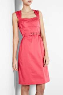 Moschino Cheap & Chic  Pink Belted Cotton Dress by Moschino Cheap