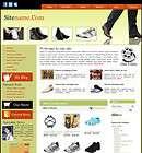 Established Men Shoes Website Business Store for Sale