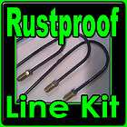 Rustproof Metal Brake line kit for the Mustang 1965 1966 1967 1968