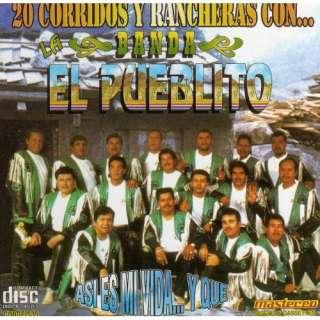 20 Corridos y Rancheras Banda El Pueblito