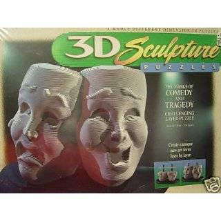3D Sculpture Puzzle   The American Bald Eagle Toys