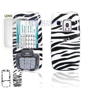 Black and White Stripes ZEBRA Case Cover for Brand HTC Fusion 5800