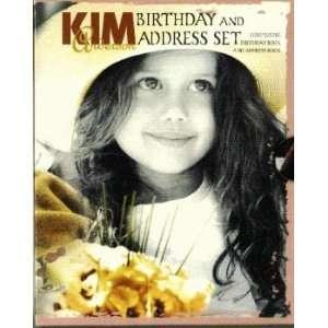 KIM Anderson Birthday and Address Set (9781588050571) Books