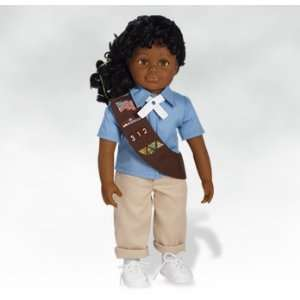 African American Girl Doll, Isabella, Girl Scout Brownie