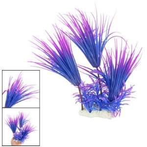 Como 11.4 Water Plastic Plant Fish Tank Ornament Blue