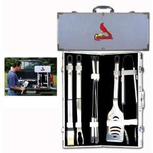 St. Louis Cardinals Mlb 8Pc Bbq Tools Set