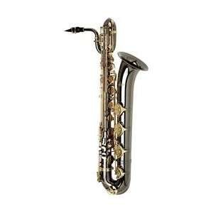 com Allora Paris Series Professional Black Nickel Baritone Saxophone