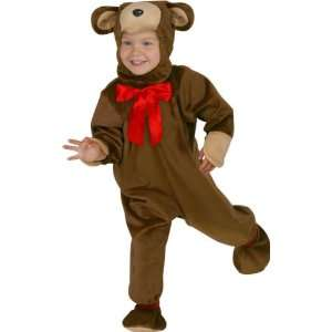 Childs Toddler Teddy Bear Costume (Size1 2T) Toys & Games