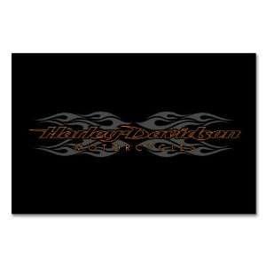 Harley Davidson radical flames billiard cloth   8