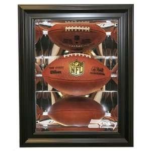 Seattle Seahawks Football Shadow Box Display, Black