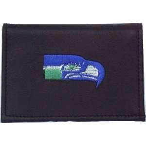 NFL SEATTLE SEAHAWKS FOOTBALL LEATHER LOGO WALLET  Sports