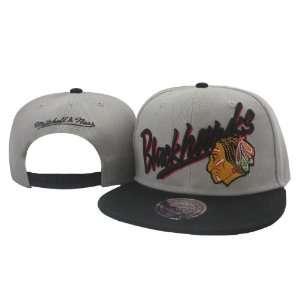 NHL Chicago Blackhawks Mitchell Ness White Hats