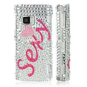 PINK SEXY 3D CRYSTAL DIAMOND BLING CASE FOR NOKIA X6 Electronics