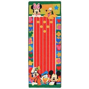 Disney Mickey Mouse Bowling Game Rug