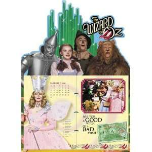 Wizard of Oz 2011 Easel Desk Calendar Office Products