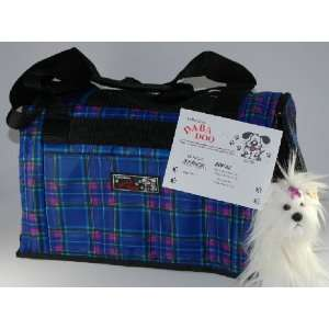 Daba Doo Pet Dog Cat Carrier Bon Voyage Bag Royal