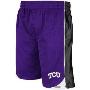 Colosseum TCU Horned Frogs Vector Basketball Shorts