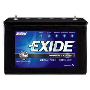 AGM 200 Sealed Maintenance Free (AGM) Heavy Duty/Commercial Battery