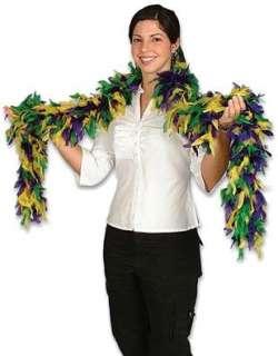New Deluxe Mardi Gras 72 Costume Accessory Feather Boa Clothing