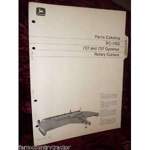 John Deere 727 & 737 Gyramor OEM Parts Manual: John Deere: Books
