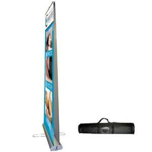 Premium Double Sided Display Banner Stand w/4C sharp