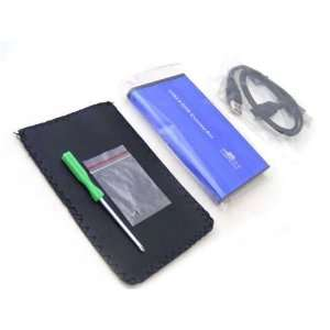 USB 2.0 to IDE/PATA 2.5 Hard Disk Drive HDD Aluminum External