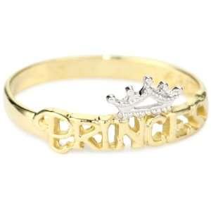 Disney Princess Girls 14k Ring, Size 3 Jewelry