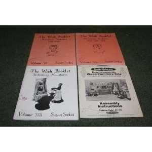 Kits For Doll House, Collector, & Curio Shelf Susan Bonsall Sirkis