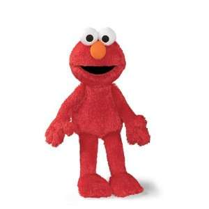 20 Sesame Street Soft and Silky Plush Elmo Doll Home