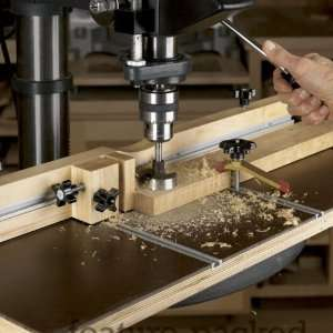 Feature Packed Drill Press Table Woodworking plan