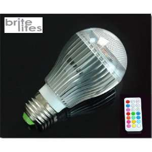 E26 / E27 9W RGB Multi Color Changing LED Light Bulb with