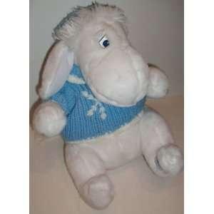 Eeyore White Snowflake Sweater 12 Plush Toys & Games