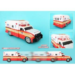 EMERGENCY RESCUE VEHICLES AMBULANCE WITH LIGHTS AND SOUNDS