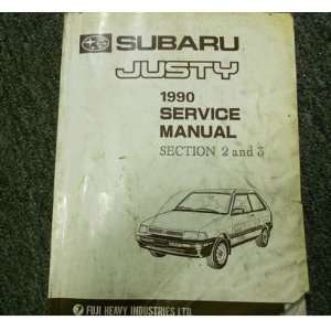 1990 Subaru Justy Engine Transmission Service Repair Shop