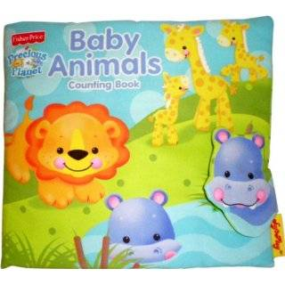 SoftPlay Fisher Price Precious Planet Counting Book, Baby Animals
