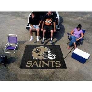 Fan Mats New Orleans Saints NFL Tailgater Floor Mat (5x6