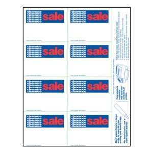 Clearance Sale   Small Item Price Shelf Signs (800pk)   3