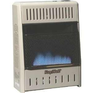 Dual Fuel Blue Flame Gas Wall Heater 10,000 BTU