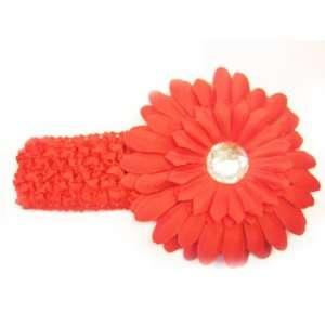 Large Gerbera Daisy Flower Hair Clip For Baby Girls