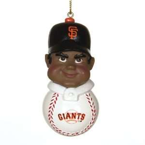 San Francisco Giants MLB Team Tackler Player Ornament (4.5 African